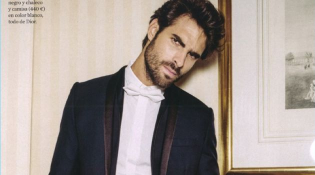 Juan Betancourt Goes Formal for EGO Spain