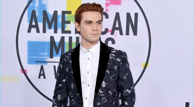 KJ Apa 2017 American Music Awards