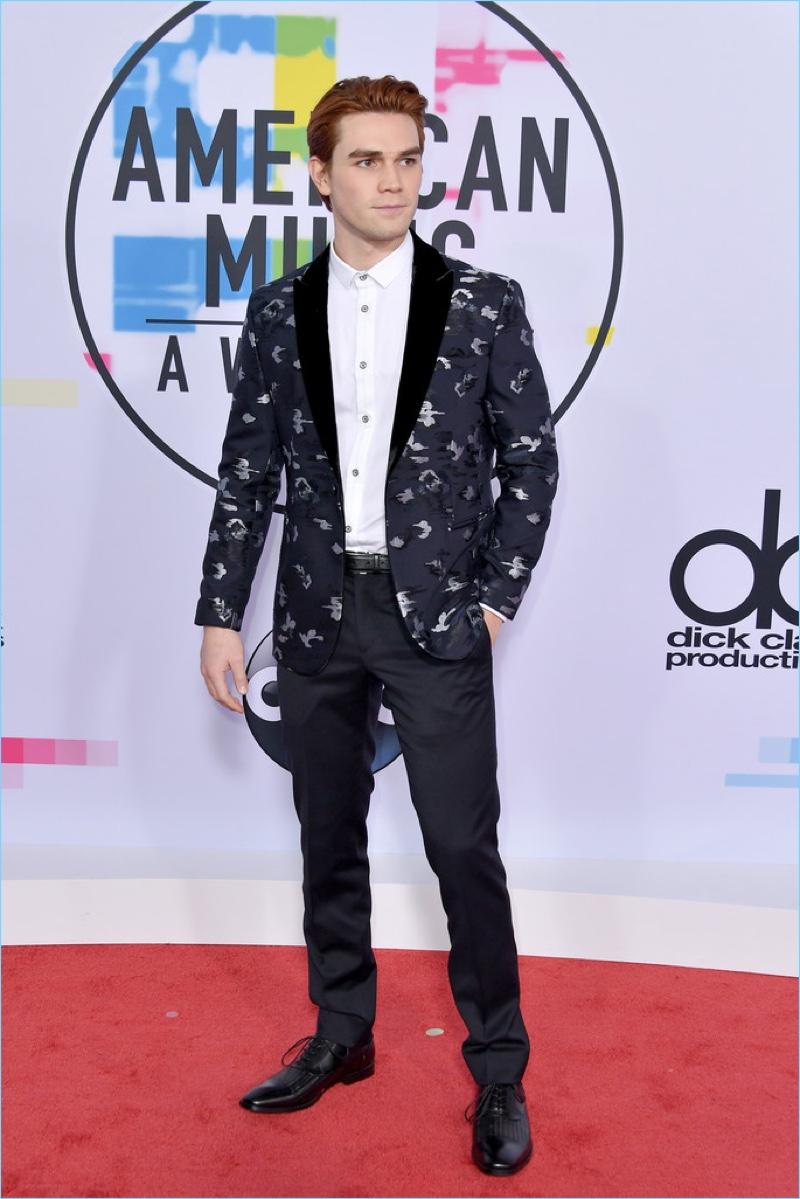 KJ Apa 2017 American Music Awards