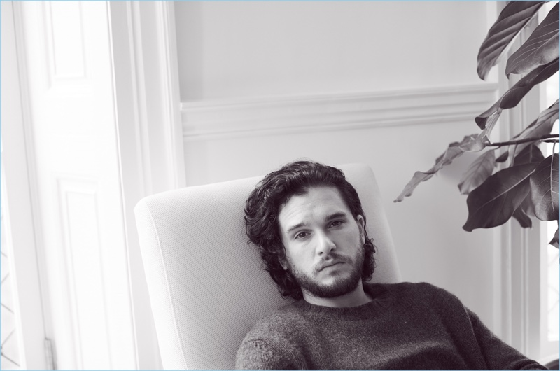 The Guardian features Game of Thrones actor Kit Harington in a new story.