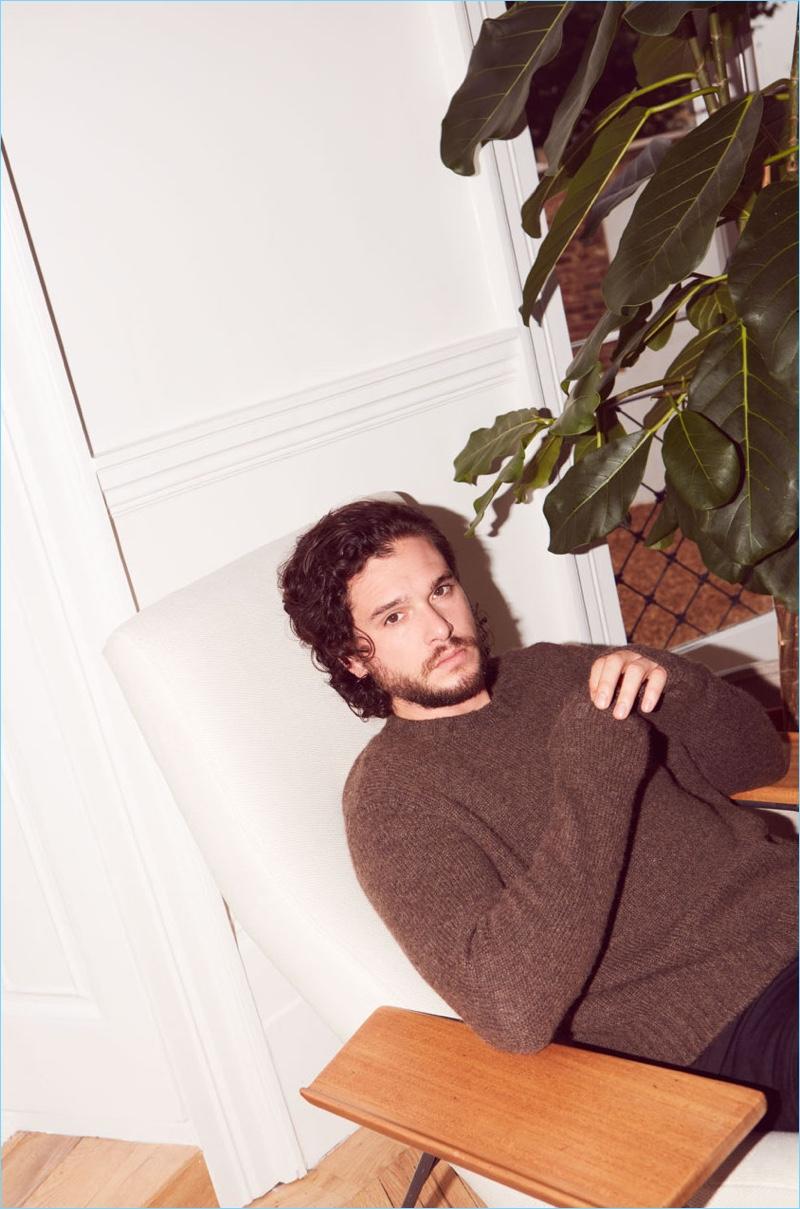 Paul Farrell photographs Kit Harington for The Guardian.