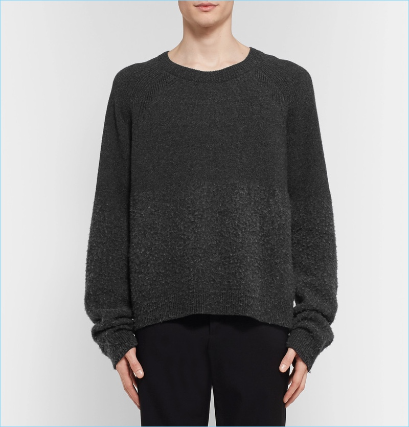 Lanvin Brushed Baby Alpaca And Merino Wool-Blend Sweater