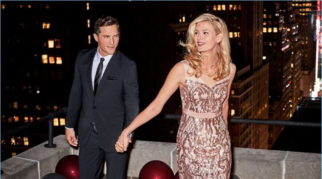 Macy's taps Ollie Edwards for its formal holiday outing.