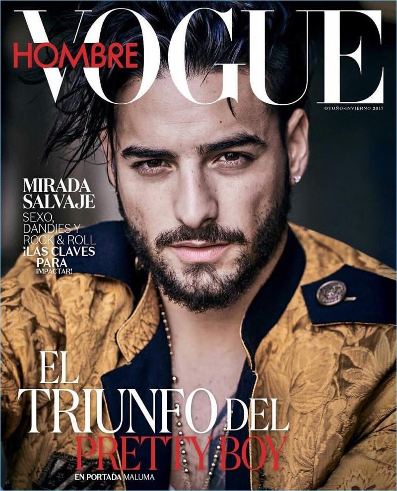 Maluma Vogue Hombre 2017 Cover