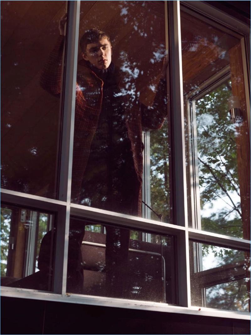 Chromatic Nostalgia: Mitchell Parry for DTK Men