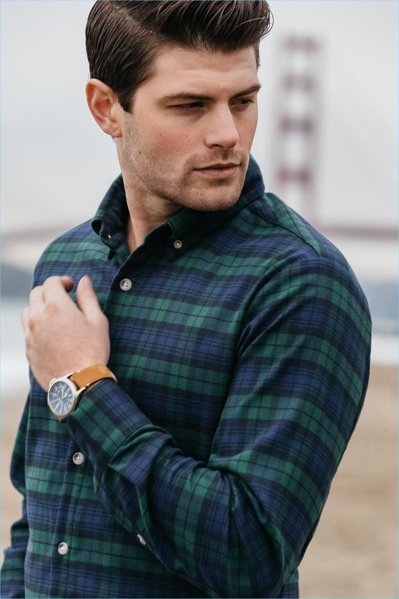 Mizzen+Main Durham Flannel Shirt