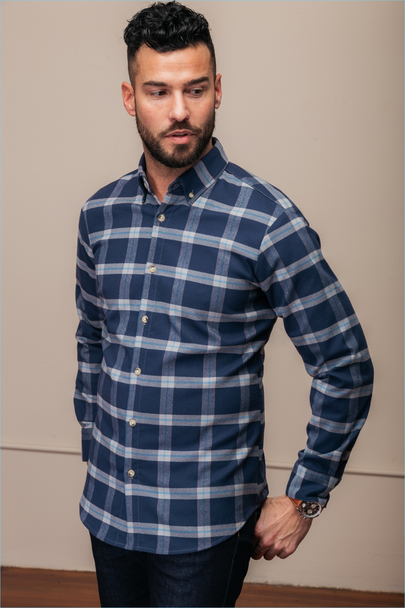 Mizzen+Main Fairview Flannel Shirt