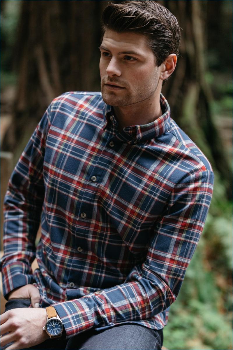 Mizzen+Main Redmond Flannel Shirt