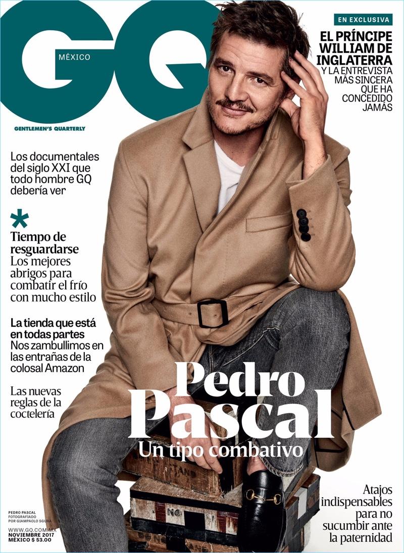 Pedro Pascal 2017 GQ México Cover