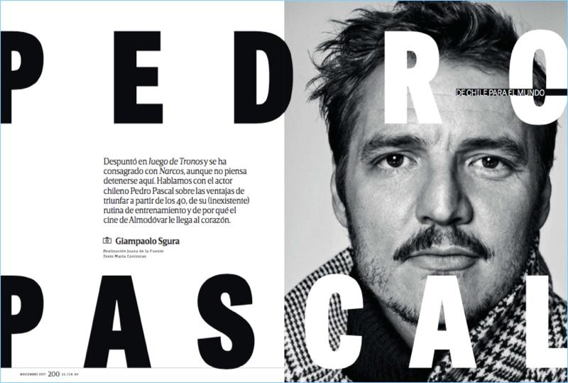 Giampaolo Sgura photographs Pedro Pascal for GQ México.