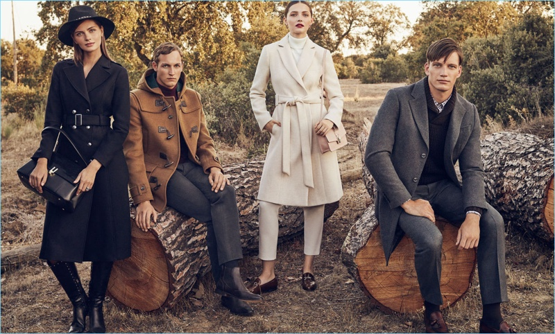Spanish brand Pedro del Hierro celebrates the holidays in style.