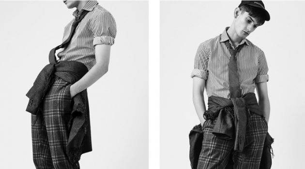 Reece Sanders Dons Tailoring for Apollo Magazine