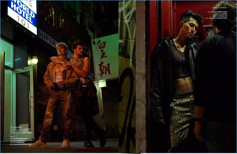 Chinatown Hustle: Jonathan Bellini + More for Reflex Homme