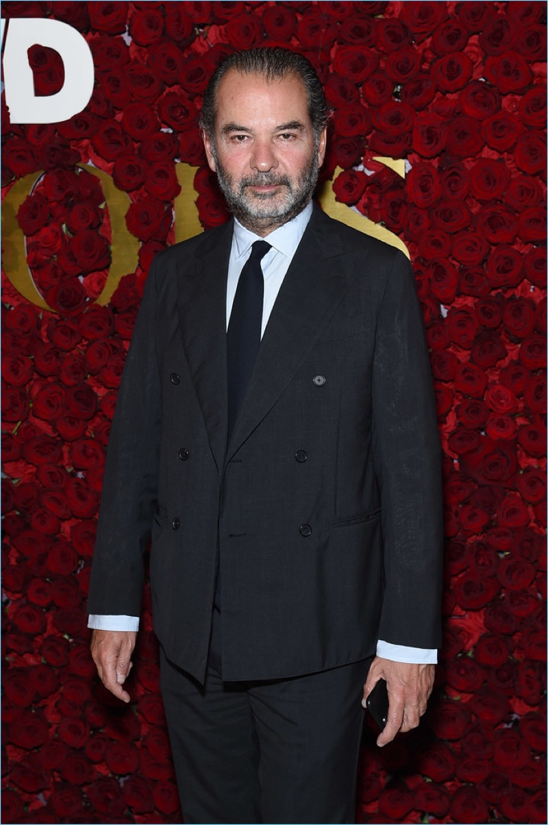 Remo Ruffini attends the 2017 WWD Honors.