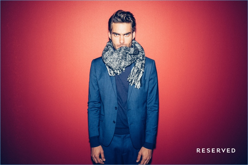 Jon Kortajarena Brings Festive Cheer with Reserved Holiday '17 Campaign