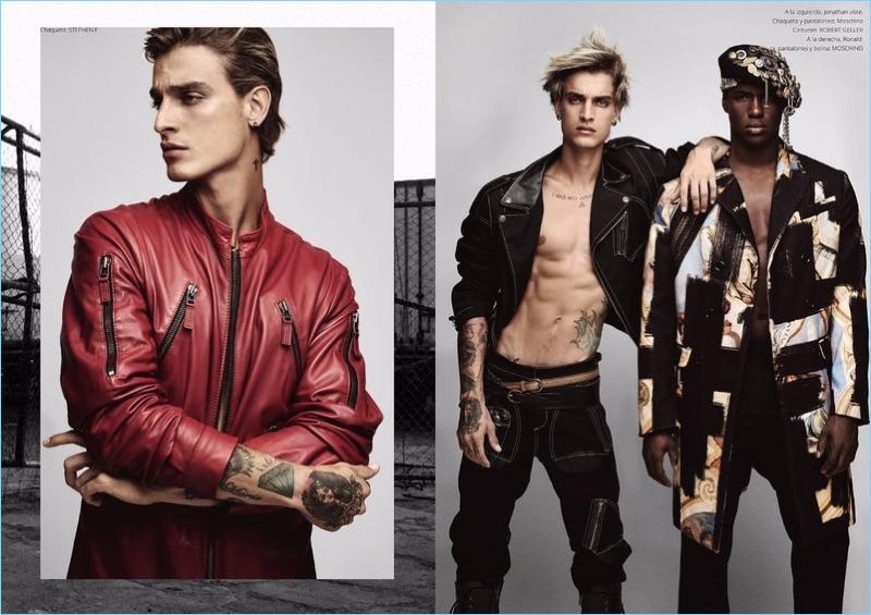 NYC Street Punk Chic: Jonathan Bellini & Ronald Epps for Risbel