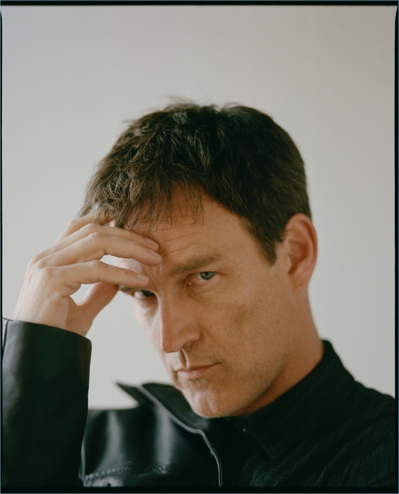 Ready for his close-up, Stephen Moyer appears in a new photo shoot for The Laterals.