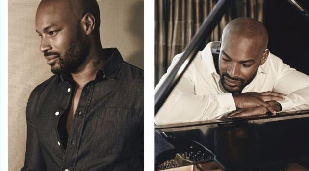 Changing Gears: Tyson Beckford Covers Glass Magazine