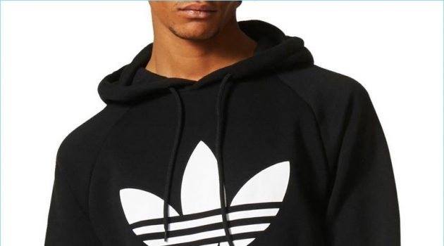 Adidas Originals Trefoil Graphic Hoodie