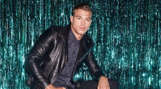 Matthew Noszka stars in Aldo's holiday 2017 campaign.