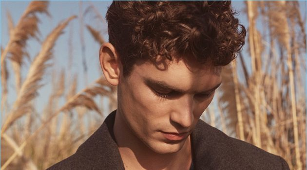 Winter Highlights: Arthur Gosse Stars in Massimo Dutti Editorial