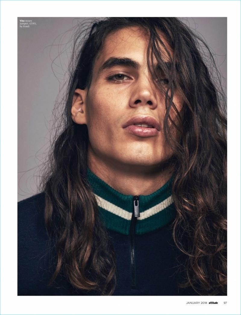Lay It On Me: Rafael Perez & Vito Basso for Attitude Magazine