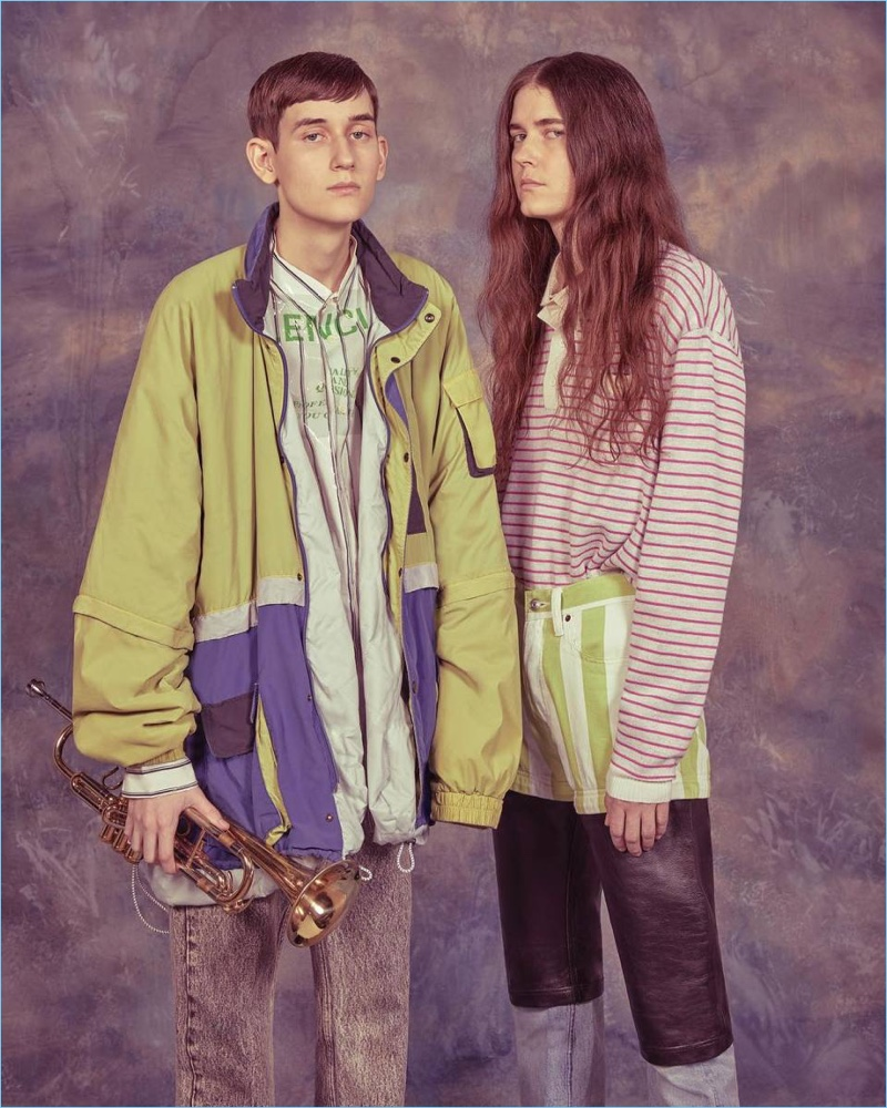 Balenciaga's spring-summer 2018 campaign features an unmistakable throwback vibe.