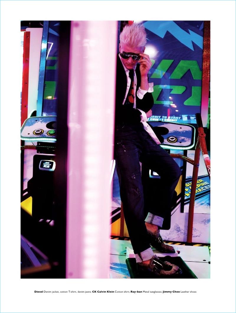 Arcade Fire: Baptiste Giannesini for Men's Folio Singapore