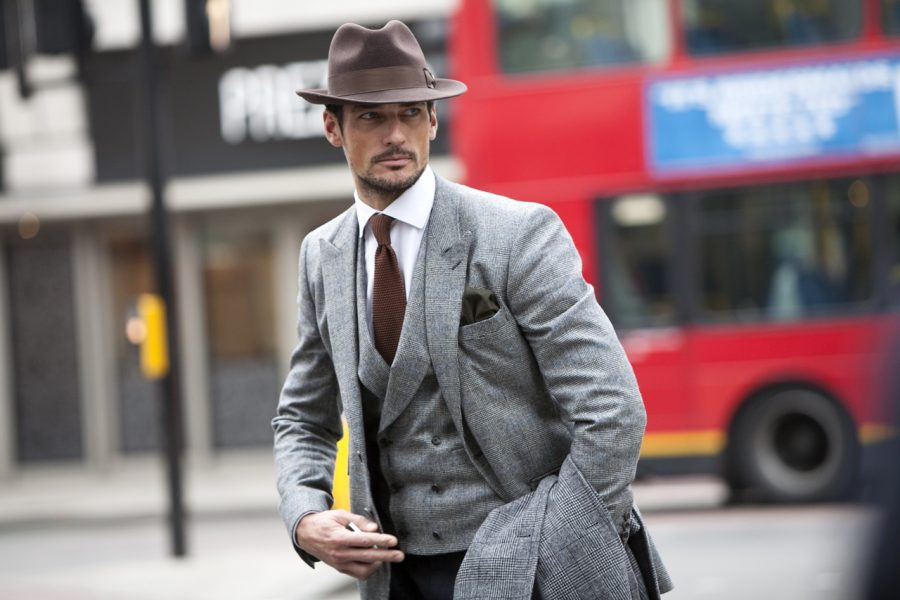 British model David Gandy photographed by Conor Clinch