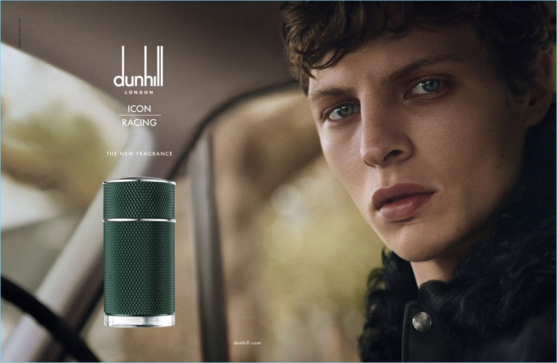 Tim Schuhmacher stars in Dunhill's Icon Racing fragrance campaign.