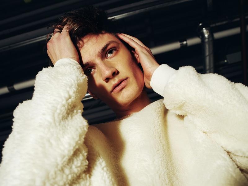 Marcel wears pullover Topman.