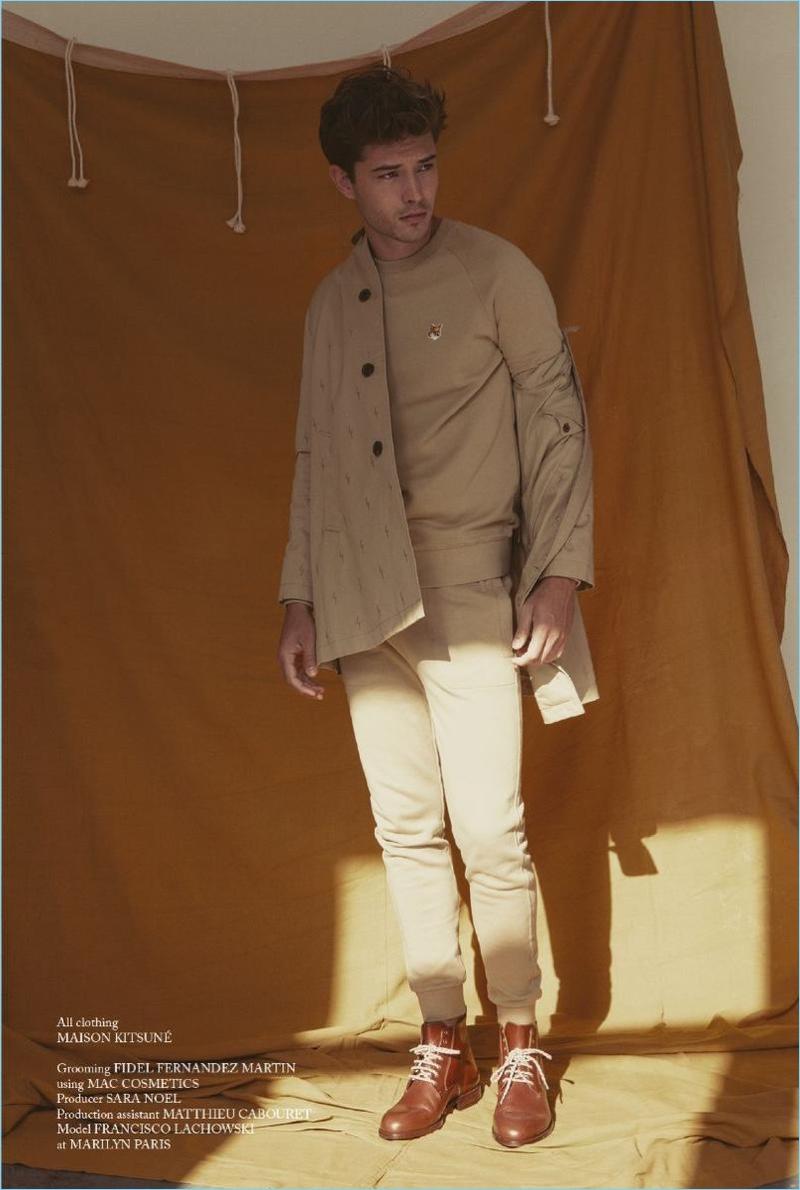 Francisco Lachowski Dons Light Colors for Glass Men