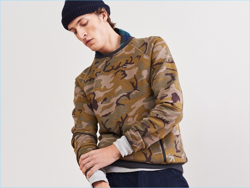 3. The Statement Sweatshirt: Prints elevate the practical sweatshirt into a bold fashion move.