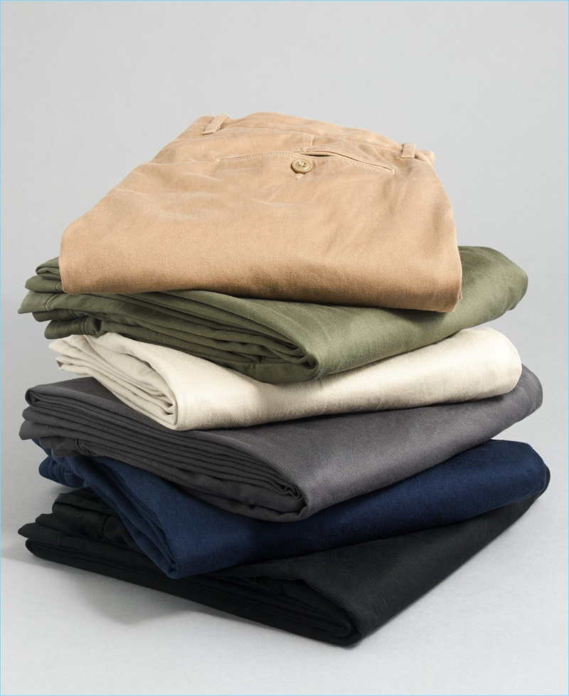 6. Perfect-Fitting Chinos: J.Crew offers its iconic chino pants in four various fits. They add an instant upgrade to any smart wardrobe.