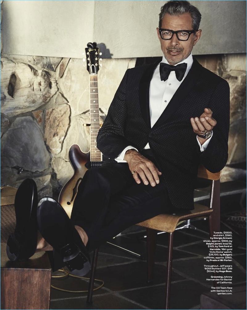 Jeff Goldblum Gq Australia 2017 Cover Photo Shoot