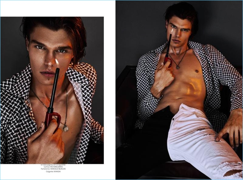 Game On! Jesse Gwin for Risbel Magazine