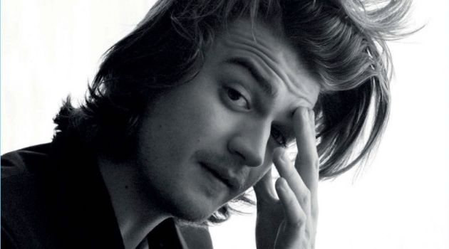 Joe Keery Covers L'Officiel Hommes España, Talks 'Stranger Things'