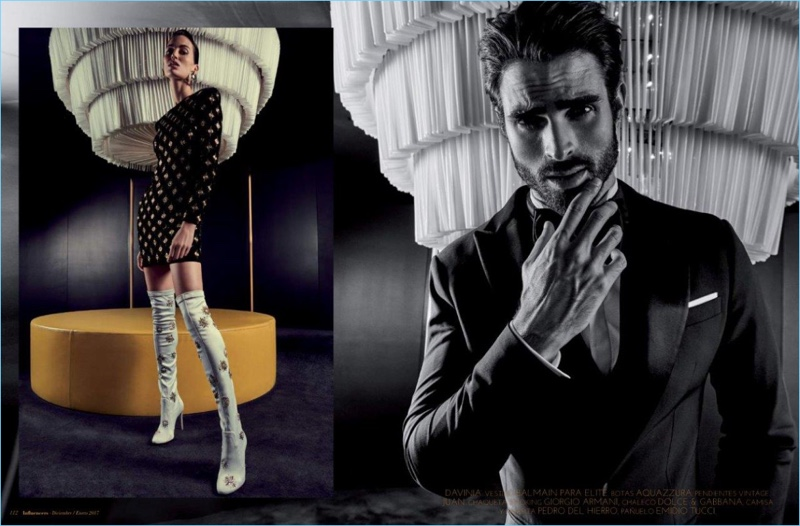 Juan Betancourt Goes Formal for Influencers Cover Photo Shoot