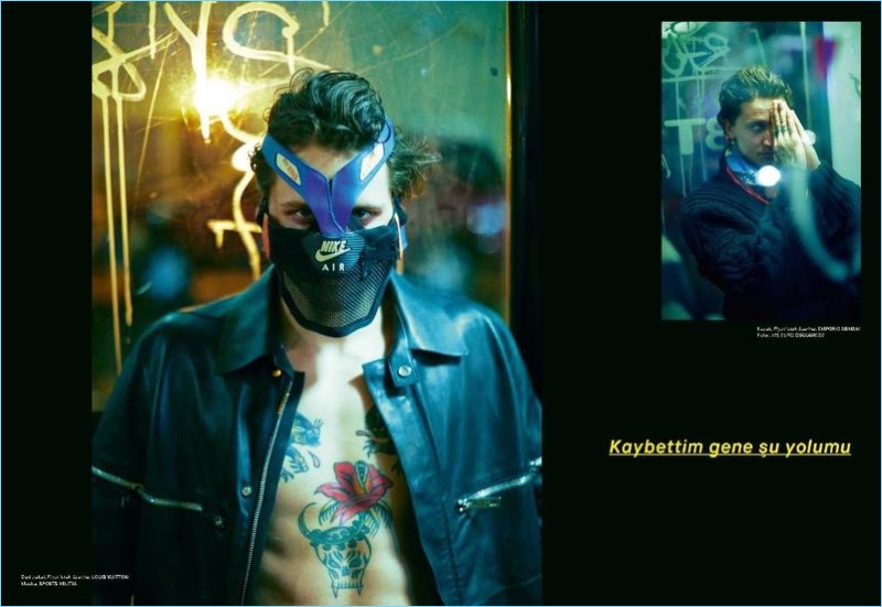 The Nightcrawler: Leebo Freeman for GQ Turkey