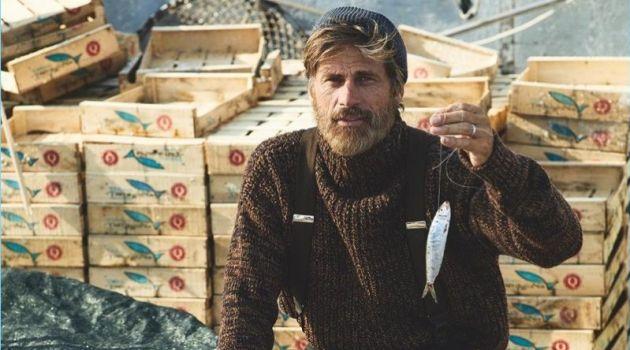 Mark Vanderloo is Fisherman Chic for GQ China