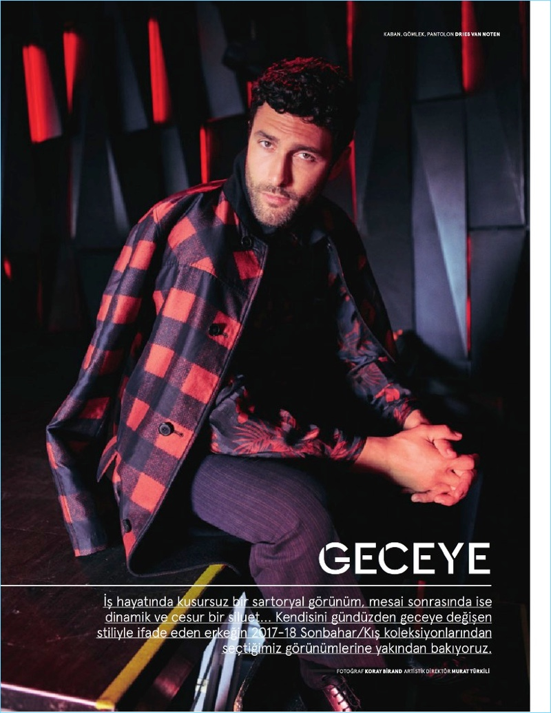 Noah Mills Inspires in Stylish Outing for Beymen