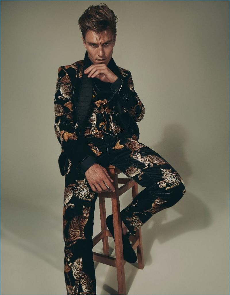 Oliver Cheshire Dons Designer Collections for Prestige Hong Kong