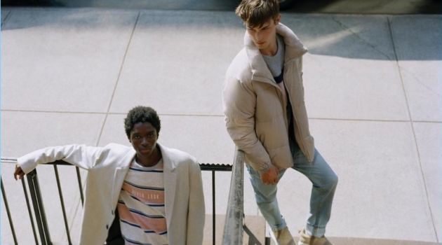 Today is Tomorrow: Kit Butler & Alton Mason for Pull & Bear