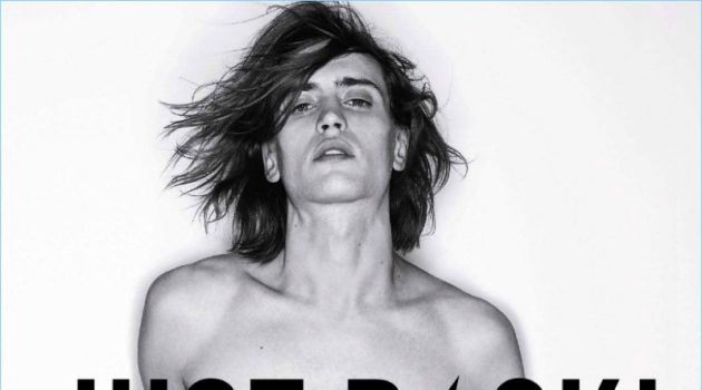 Sam Lammar fronts Zadig & Voltaire's fragrance campaign.