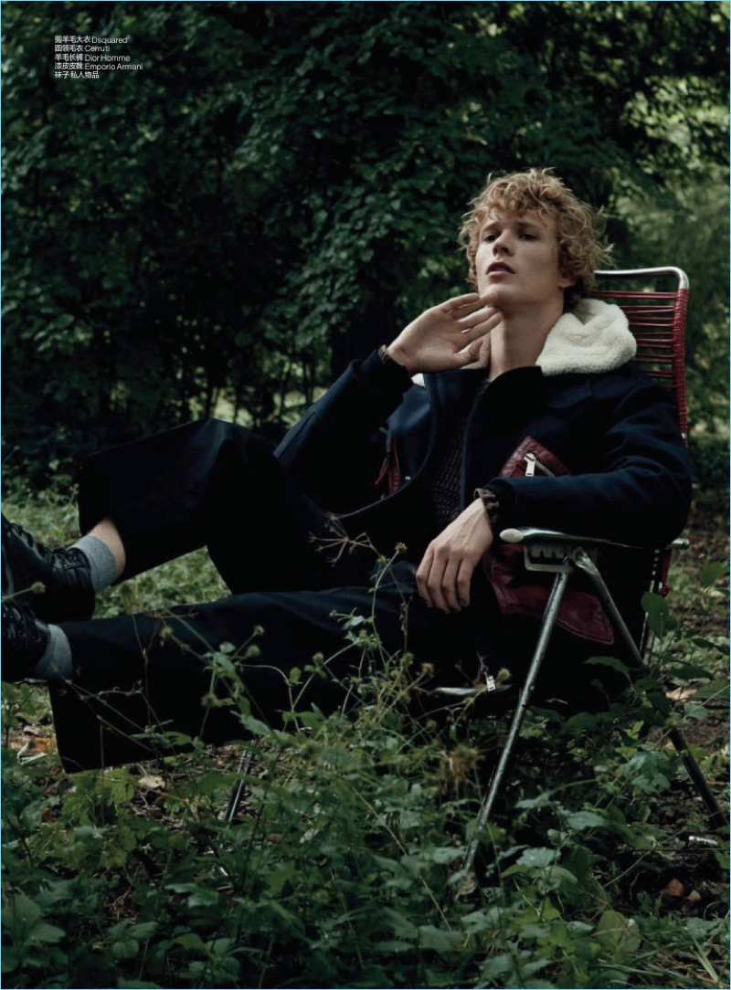 Into the Wild: Sven de Vries for GQ China
