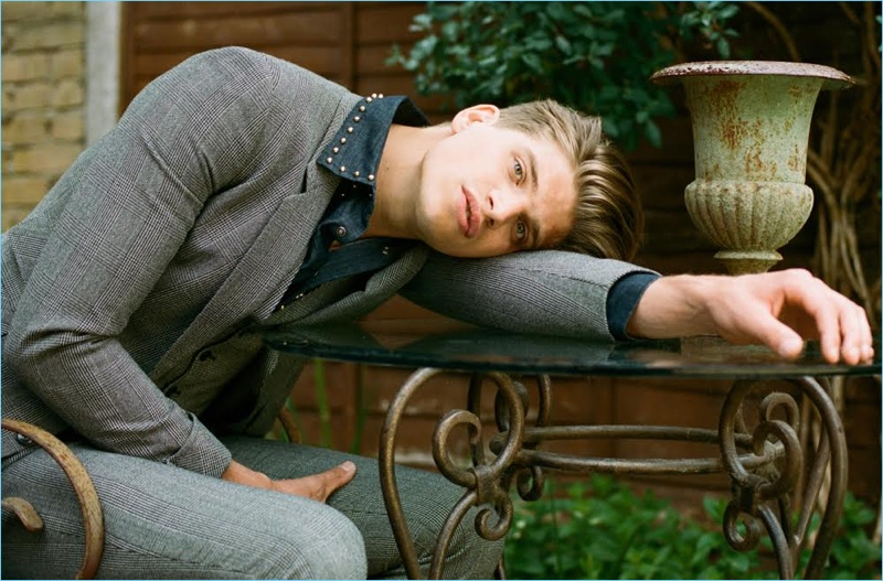 Toby Huntington-Whiteley Dons Fall Fashions for L'Optimum Thailand
