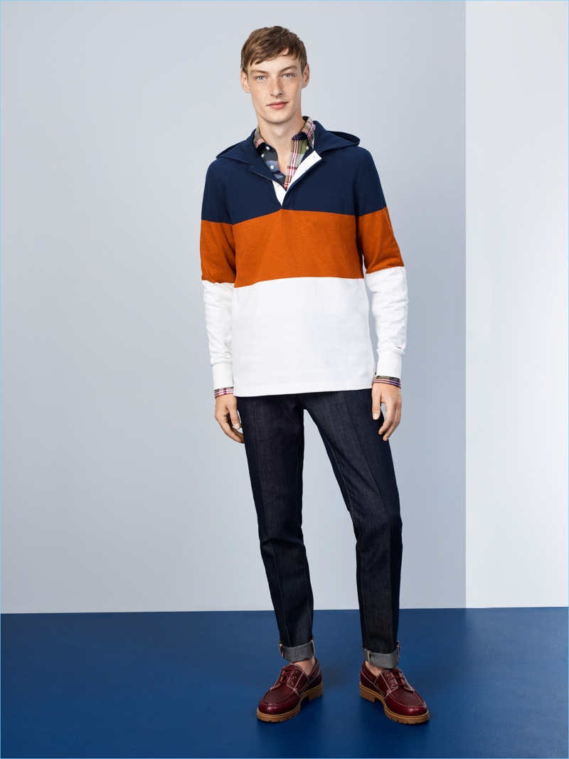 5a053f73 Tommy Hilfiger Tackles Formula One Inspiration for Spring '18 Collection
