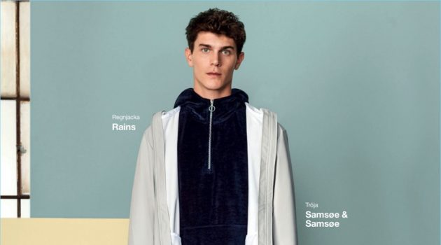 Vincent LaCrocq links up with Zalando for a campaign.