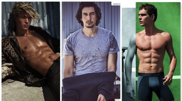 Week in Review: Francisco Lachowski, Adam Driver Goes GQ, Alexandre Cunha for Lacoste + More