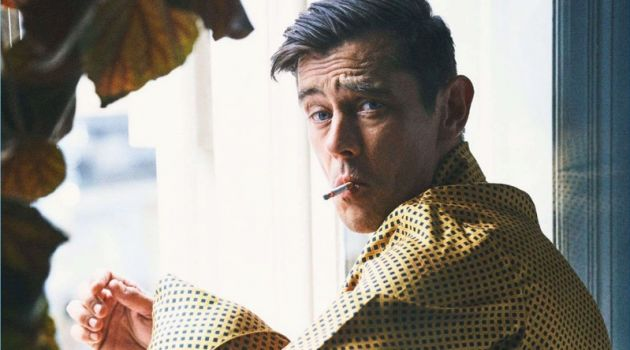 Werner Schreyer Embraces Classic Menswear for King Magazine